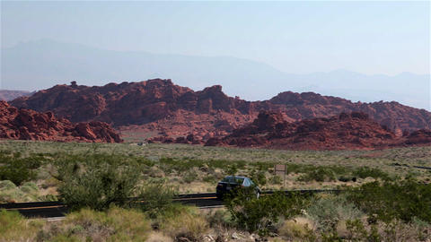 Valley of fire, Nevada, USA Footage