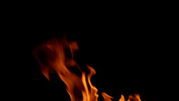 Fire In Motion stock footage