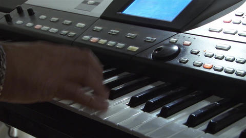 Musicians 2a stock footage