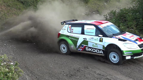 Rally 1 Stock Video Footage