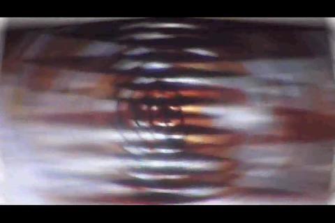 blur and polygon bg Stock Video Footage