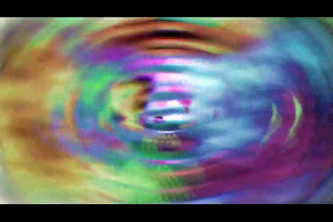 blur and polygon bg 3 Stock Video Footage