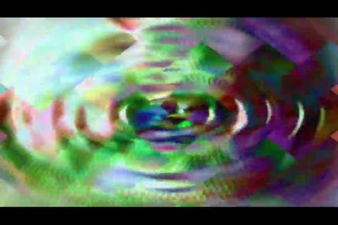 blur and polygon bg 5 Stock Video Footage