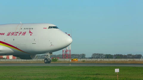 Airfreighter Stock Video Footage