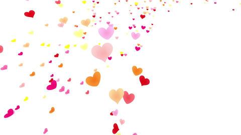 Heart petals pink tornado Jb 4k CG動画