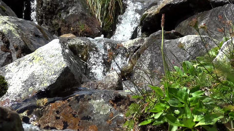 Mountain river 2c Stock Video Footage