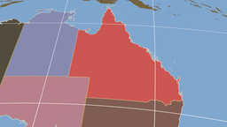 Queensland extruded. Solids Stock Video Footage