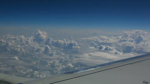Aerial cloudscape Stock Video Footage