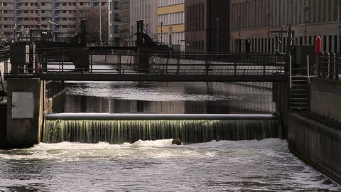 Spree river Stock Video Footage