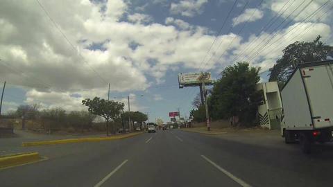 MANAGUA, NICARAGUA - MAR 10, 2015: North Highway Managua,... Stock Video Footage