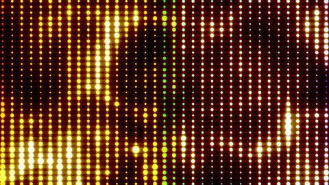 Colorful Led Lights 02 loop Stock Video Footage