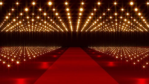 On The Red Carpet 19 for title text Stock Video Footage