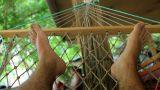On hammock Footage