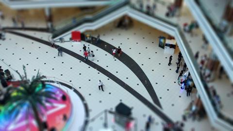 miniature shopping center Live Action