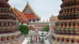 wat pho temple Footage
