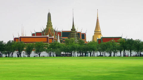Grand Palace Stock Video Footage