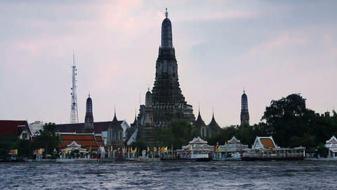 Wat Arun Stock Video Footage