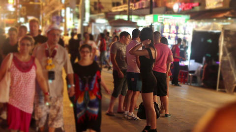 Prostitutes are waiting for costumer Stock Video Footage