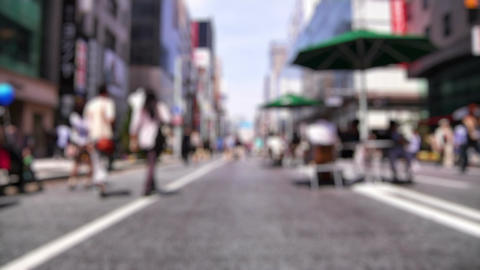 Anonym Crowd Tokyo SlowMotion 60fps 22 Stock Video Footage