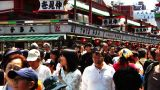 Crowd Tokyo Asakusa SlowMotion 80fps 03 Footage