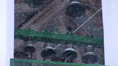 snow bells Stock Video Footage