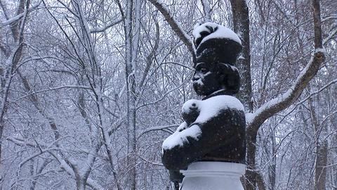 snow hetman 2 Stock Video Footage