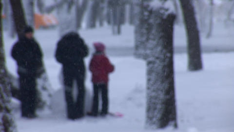 snow play 2 Footage