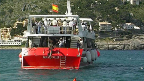 Boats trip Stock Video Footage