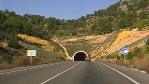 Tunnel Stock Video Footage