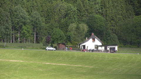 Small Farmhouse Stock Video Footage