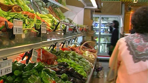 Supermarket Stock Video Footage