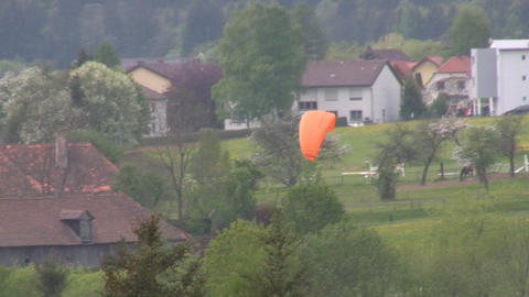 Paraglider Stock Video Footage