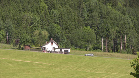 Small Farmhouse 1 Stock Video Footage