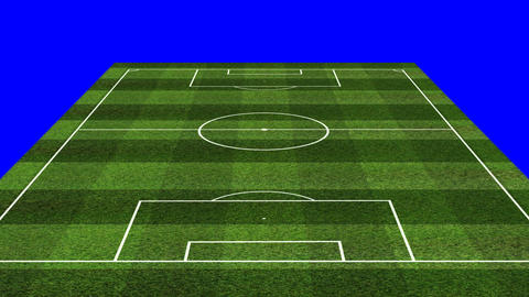 3D BS Football Lineup 424 Stock Video Footage
