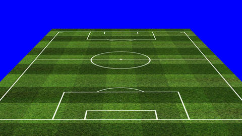 3D BS Football Lineup 4141 Stock Video Footage