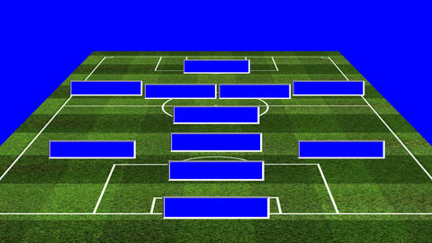 3D BS Football Lineup 4141 Animation