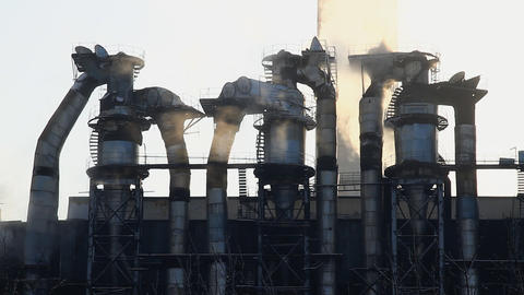 Power Station31 Stock Video Footage
