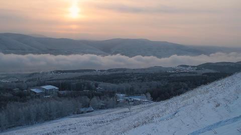 Winter scene 1 Stock Video Footage