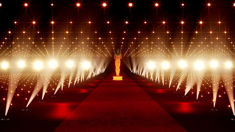 On The Red Carpet 02 Award Animation