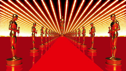 On The Red Carpet 14 Award Animation