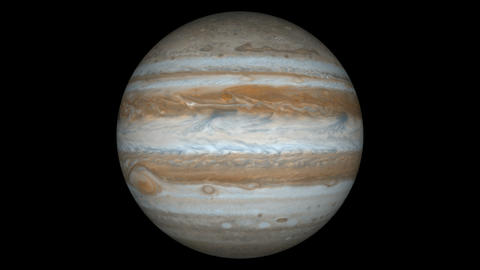 jupiter loop Stock Video Footage