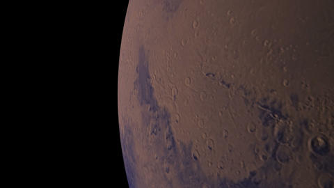 mars orbit Animation