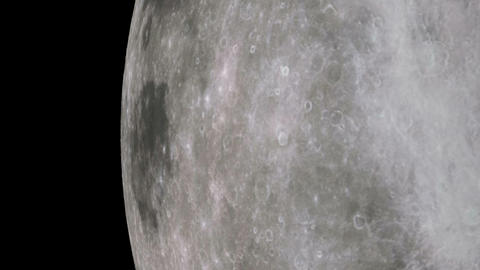 moon orbit Stock Video Footage