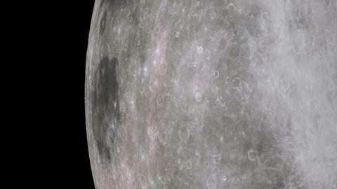moon orbit Stock Video Footage