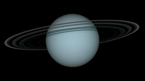 uranus loop Stock Video Footage