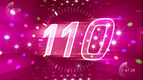 CountDown 120 D1b2 HD Stock Video Footage