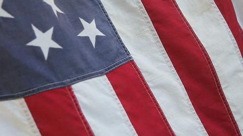 USA flag Footage