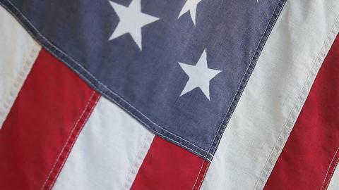 old USA flag Footage