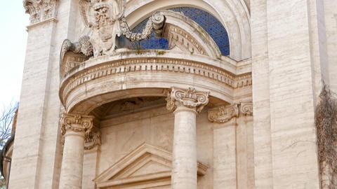 Sant'Andrea al Quirinale. Roma, Italy Footage