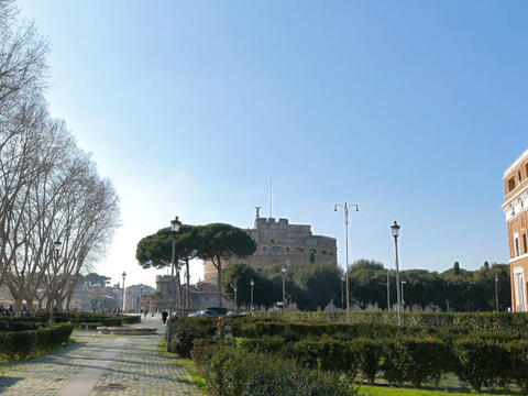 Castle of San Angelo. Rome, ItalyCastle San Angelo. Rome, Italy. 640x480 Live Action